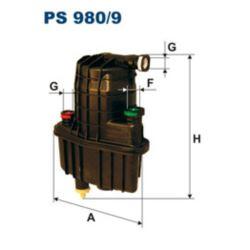 PS980/9 FILTR PALIWA FILTRON