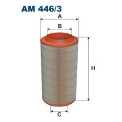 AM446/3 FILTR POWIETRZA FILTRON MAN TGA