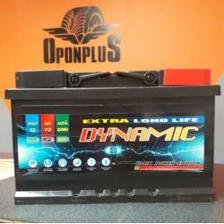 AKUMULATOR 12V72Ah P+ 680A DYNAMIC 276X175X175
